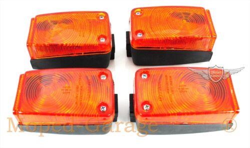 Kreidler Florett RMC RS Mustang Moped  255 Blinker 2 Paar Satz 4 Stück Neu *