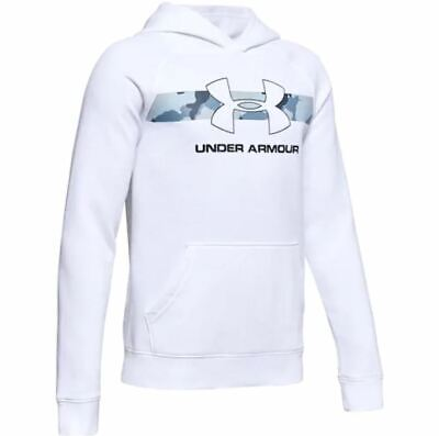 Under Armour Boys Rival Pullover Hoodie New Sizes Youth S,M,L