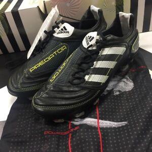 43f35a24fd22 adidas Predator X TRX FG Black White US 7 7.5 BNIB   Original Tags ...