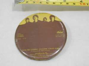 VINTAGE-BEATLES-CAPITOL-RECORDS-YOU-039-RE-GOING-TO-LOSE-THAT-GIRL-PIN-BACK-BUTTON