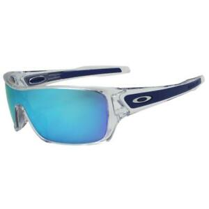 e16c2c6439 Oakley OO 9307-10 TURBINE ROTOR Polished Clear Sapphire Iridium Mens ...