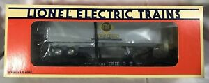Lionel-6-19415-ERIE-Flatcar-With-Trailer-NEW-IN-BOX
