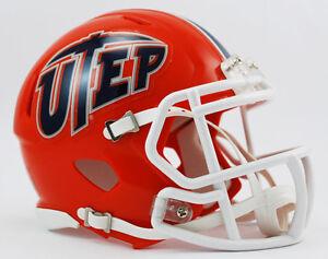 Texas El Paso (UTEP) Miners NCAA Riddell Speed Mini Helmet ...