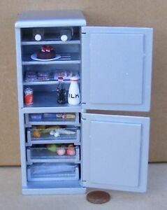 1:12 dolls house miniature handmade opening fridge freezer  3 to choose from.