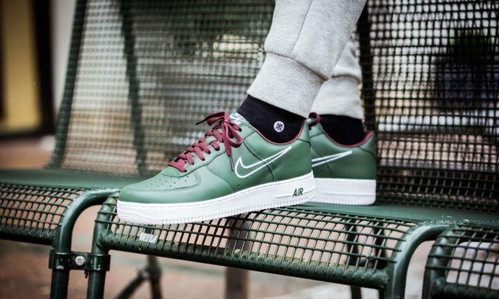 Nike Air Force 1 Low Retro Hong Kong Men's shoes Trainer UK 9.5 EUR 44.5 US 10.5