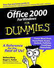 Microsoft Office 2000 for Windows For Dummies by Wallace Wang (Paperback, 1999)