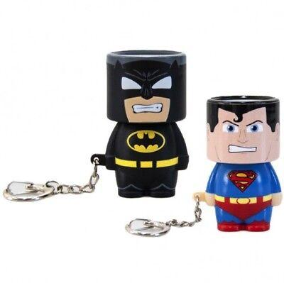 Batman Clip-On Look-A-Lite Light up Key Chain Keyring Ring Stocking Filler