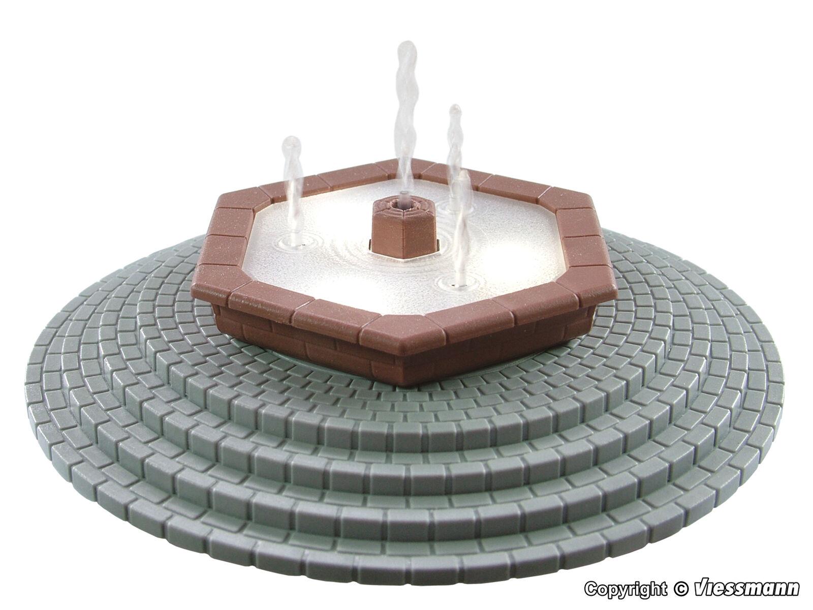 Viessmann h0 1316-mehrstrahliger ornamentali Fontana con LED, si sposta Nuova Merce Nuova sposta 845fb2