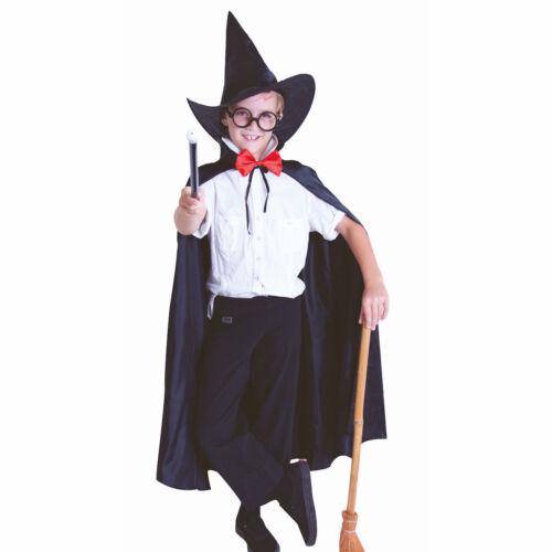 Glasses Harry Potter Wizard Boy Set Hat Wand and Cape fancy dress costume Set