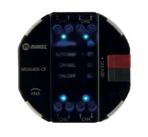 4-fach-KNX-Unterputzaktor-Schaltaktor-Kombi-UP-Aktor-4-Kanaele-a-5A