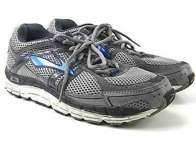Brooks para Hombre Addiction 12 Gris pasear Running Zapatos Tenis Talla 9 2E | eBay