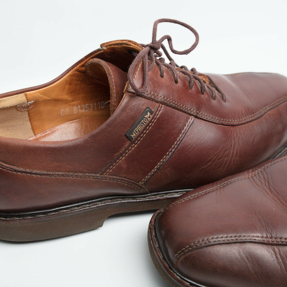 Uomo MEPHISTO Air-Relax Good Year Welt  shoes size 9 1/2 Shock Absorber