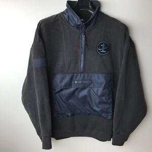 Details about Nike Sportswear AF1 Air Force Jacket Pullover Men's SZ XXL Half Zip NWT