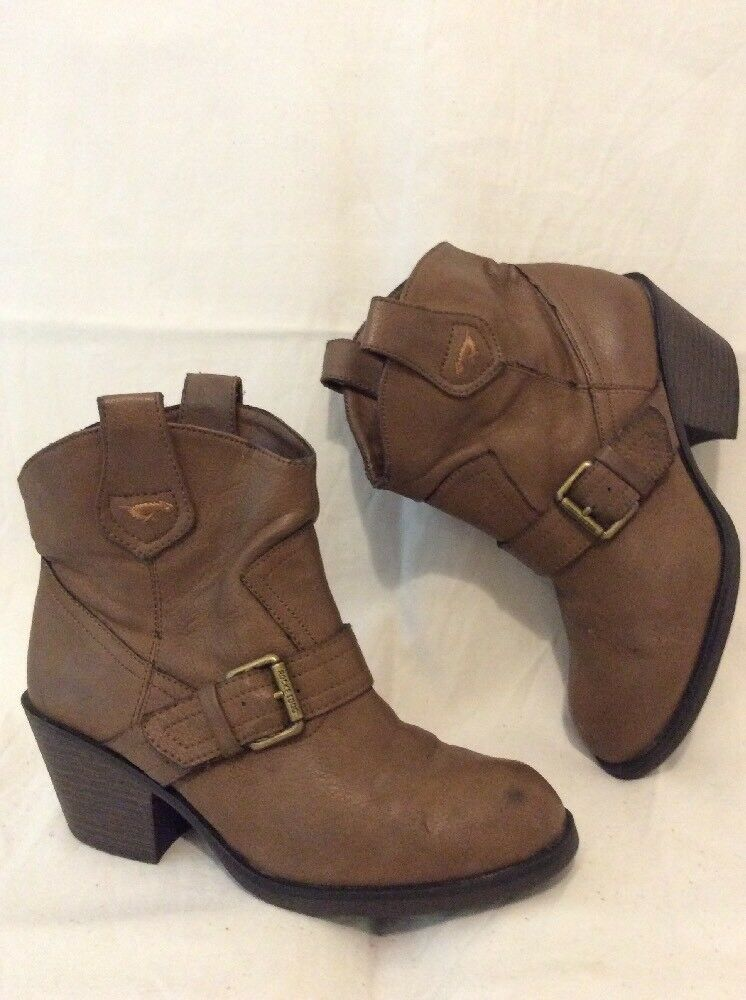 Rocket Dog Brown Ankle  Boots Size 5