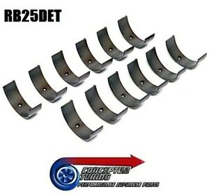 New-Set-Quality-Big-End-Rod-Bearings-Std-Size-For-R33-GTS-T-Skyline-RB25DET