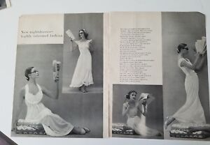d1a122f0549 Image is loading 1956-women-039-s-night-dresses-lingerie-munsingwear-