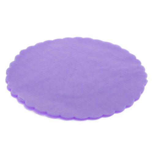 CF.50 organza vari colori confetto VELO DI FATA SMERLATO TONDO DA 23cm