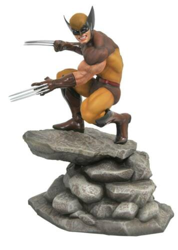 Marvel Gallery PVC Statue Brown Wolverine Comic Variant 23cm Diamond Select Toys