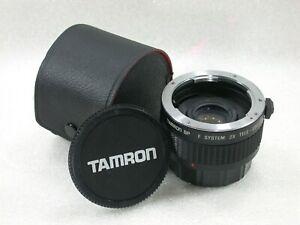 Tamron-SP-F-System-2X-Tele-Converter-7-Elements-BBAR-For-Pentax-PK-No-657262