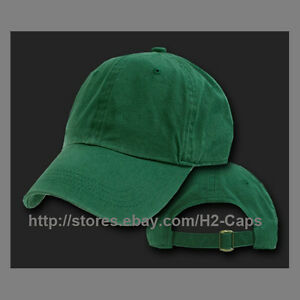 Details about Plain Cotton Polo Hats Blank FOREST GREEN Adjustable Baseball  caps 66f62b57db9