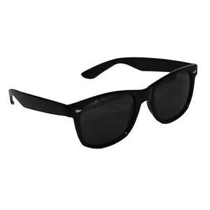 BLACK-WAYFARER-SUNGLASSES-UNISEX-UV400-AVIATOR-NEW-WORLDWIDE-SHIPPING
