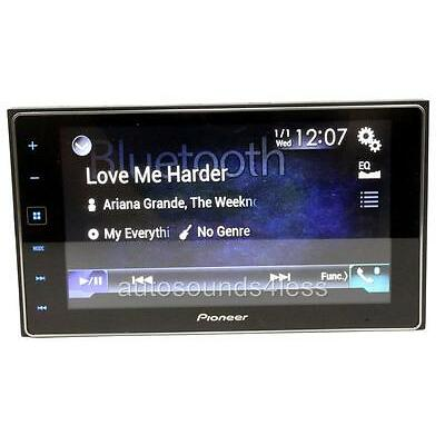 """Pioneer AppRADIO 4 SPH-DA120 Android iPhone Multimedia Player 6.2"""" LCD Bluetooth"""