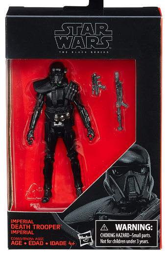 Star Wars Black Series Imperial Death Trooper Action Figure