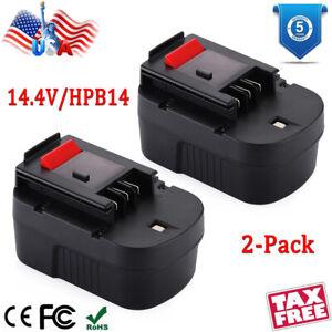 High Quality Battery for Black /& Decker BDG14SF-2 499936-34 499936-35 A14 UK