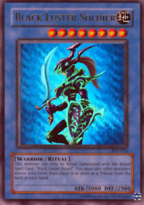 Yugioh Black Luster Soldier SYE-024 Unlimited Edition Ultra Rare Near Mint