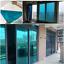 miniatuur 7 - 76cm Silver/Blue specchio Isolamento Pellicola Finestre Film Stickers vetri