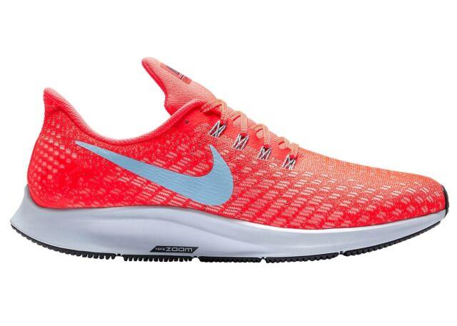 Nike Air Zoom Pegasus 35 Mens 942851 600 Bright Crimson Running Shoes Size 8.5