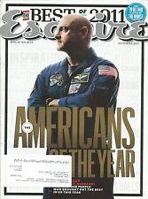 DECEMBER 2011 ESQUIRE MAGAZINE MARK KELLY U.S. NAVY CAPTAIN NASA ASTRONAUT