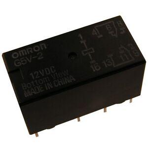 OMRON-G5V2-12-Relais-12V-DC-2xUM-2A-288R-Relay-for-Signal-Circuits-854063