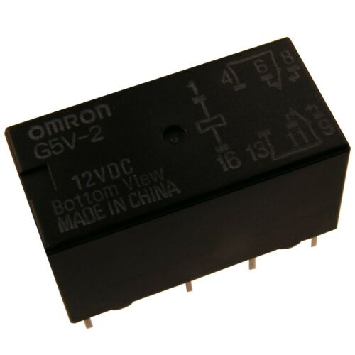 Omron g5v2-12 Relais 12v dc 2xum 2a 288r relay for señal Circuits 854063