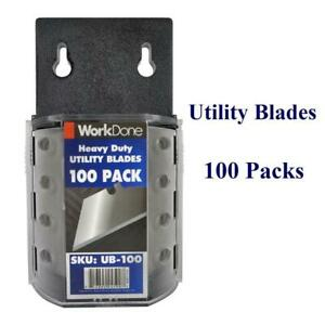 Utility Blades 100 Pack - w/Bulk Discounts Canada Preview