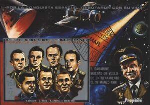 Le Meilleur Guinée Equatoriale Block52 Oblitéré 1972 Victime Astronaute MatéRiaux De Qualité SupéRieure