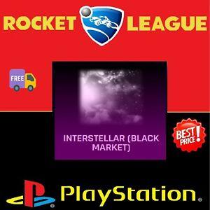 Psn Ps4 Rocket League New Bm Interstellar Decal Sick Ebay