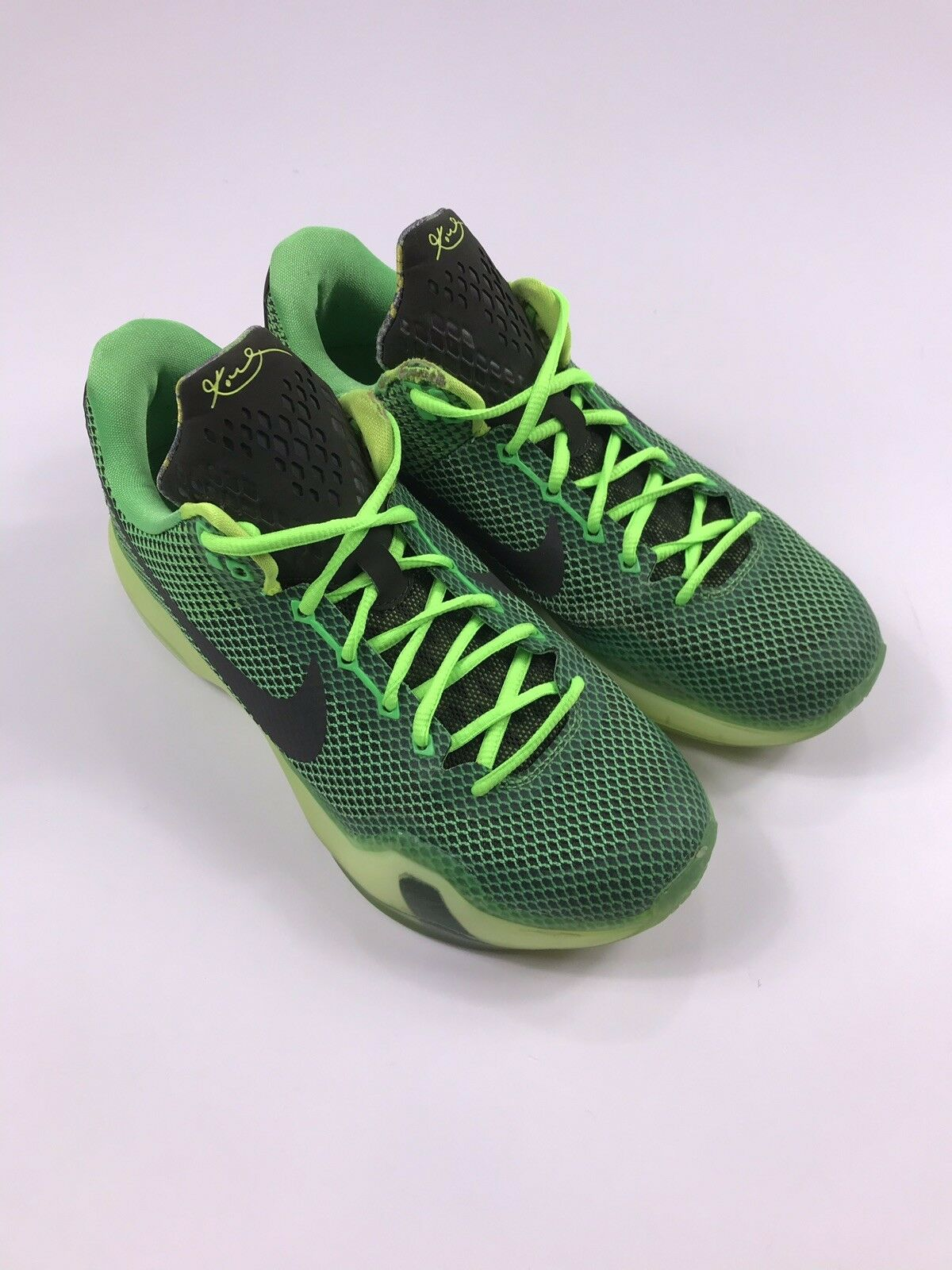 Men's NIKE Kobe X Green Vino 705317-333 Basketball shoes Size 7 US