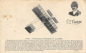 CPA-AVIATION-L-039-AEROPLANE-FERBER-F-DE-RUE