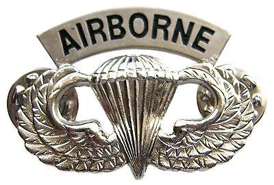 US Airborne Parachute Unit Badge Pin Lapel