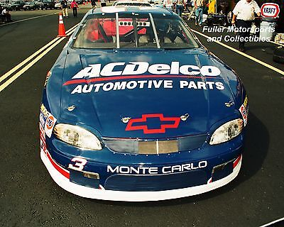 DALE EARNHARDT JR WINS AT RICHMOND 1999 #3 CHEVY NASCAR BUSCH SERIES 8X10 PHOTO
