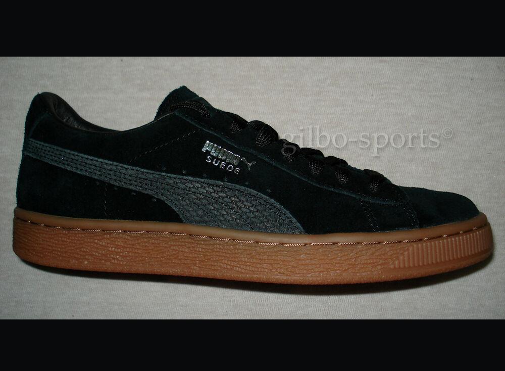 Puma Suede Citi Series JR Black Gr. Silver - Neu - Gr. Black 38 38,5 364745 01 Rihanna 386eeb