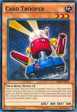 3X Card Trooper-Common-SR03-EN015-NM-Yugioh Machine Reactor Structure Deck