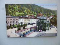 Ansichtskarte Wildbad Trinkhalle mit Olgastrasse um 1900 (Nr.576)