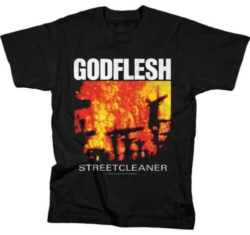Godflesh Streetcleaner Pesado Industrial Experimental Metal Music Camiseta 12876