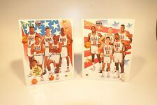 TWO SEALED 200 PIECE POSTER PUZZLES OF THE 1992 USA DREAM TEAM BY SKYBOX