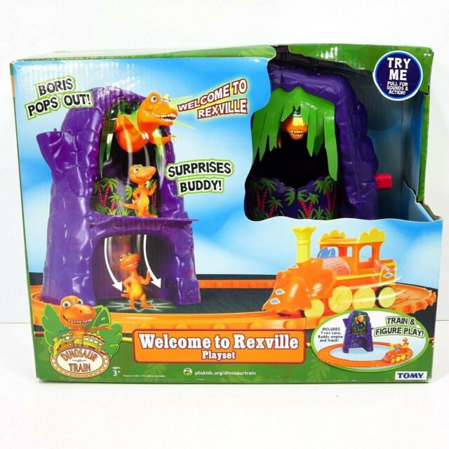 New Dinosaur Train Set Adventure Welcome To Rexville Learning Curve