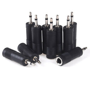 2-5-10Pcs-1-8-3-5mm-male-plug-to-1-4-6-35mm-Female-jack-Mono-Adapter-Converto-EL
