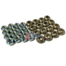 Rocker Arm Grooved Pivot Ball Amp Lock Nut Set Kit Sbc Chevy 400 350 327 305 283