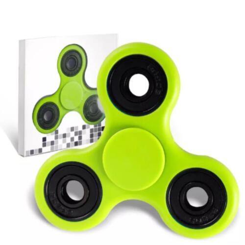 Kids Tri-Spinner Bangers céramique EDC Main Doigt Spinners Bureau Focus STRESS Toy